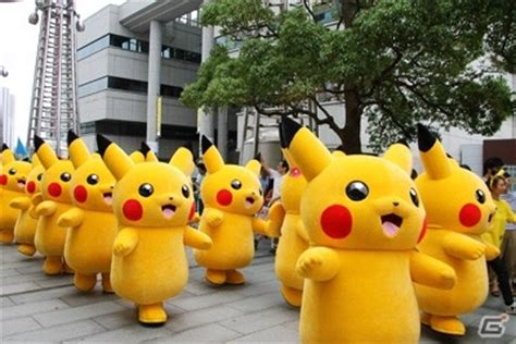 theme line pikachu bulan agustus 2015 nanti yokohama akan kembali dilanda