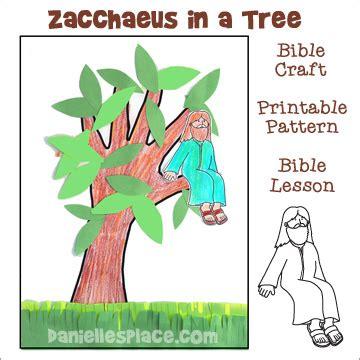 Zacchaeus Craft Printable