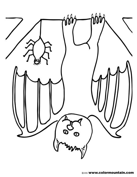 upside down coloring page upside down bat coloring picture create a printout or