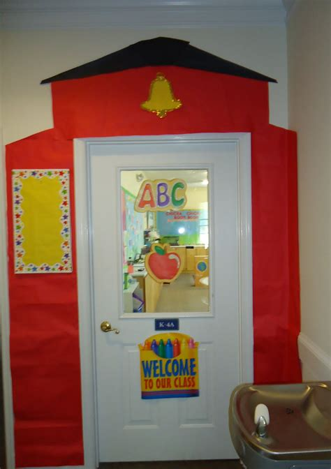 School Door Decorations by Pixie A Year Monday Door Decor