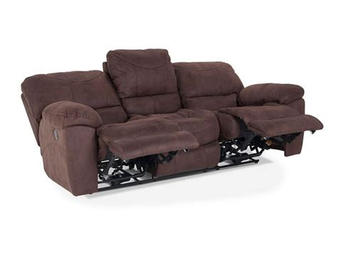 discount reclining sofa optimus power reclining sofa recliner bob s discount