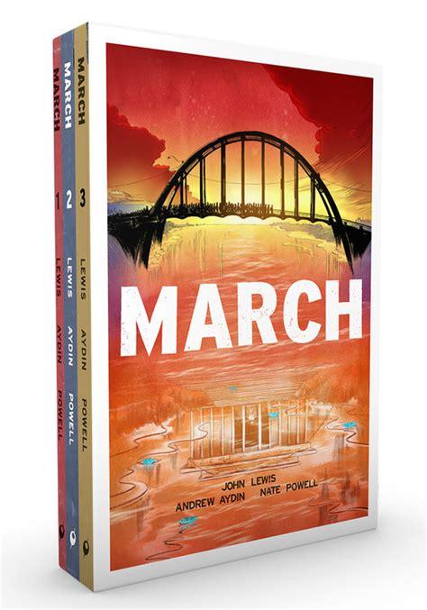 march trilogy slipcase set march trilogy slipcase set top shelf productions