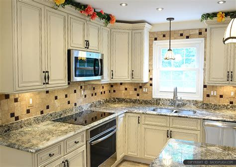 Kitchen Countertop Backsplash Ideas Travertine Tile Backsplash Photos Amp Ideas