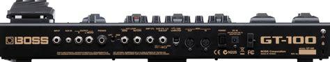 Harga Effect Gitar Gt 100 2 pedal di atas untuk memilih preset manual yang dapat