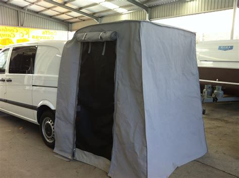 van rear door awning other products 171 coffs canvas