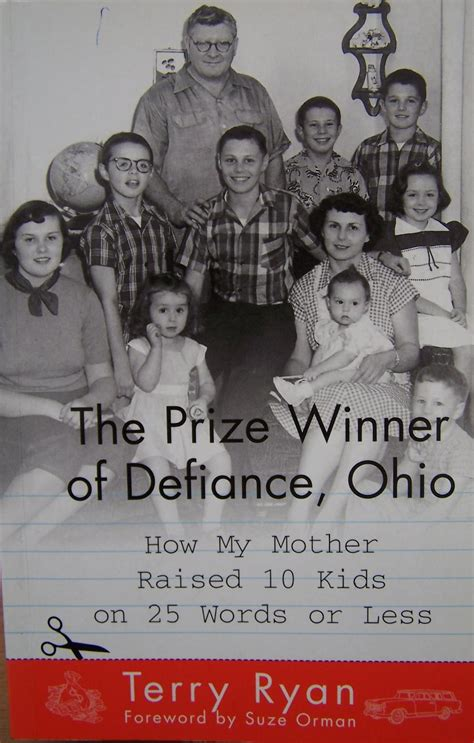 Book Review The Prize Winner Of Defiance Ohio By Terry by The Prize Winner Of Defiance Ohio How My Raised