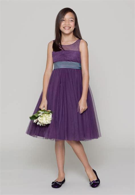 Junior Bridesmaid Dress by Purple Occasion Dress Junior Purple Bridesmaid Dresses