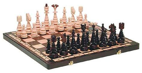 Sets For The Tree - sculptured chess sets tree chesschess set