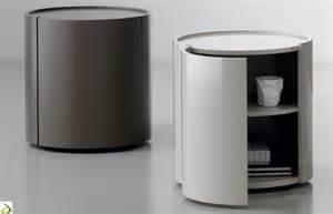 Bedside Table Design comodino rotondo moderno urigi arredo design online