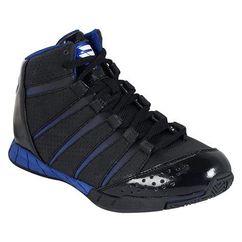 protege basketball shoes boy s black blue basketball shoes he ll look like a pro