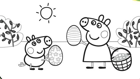 peppa pig thanksgiving coloring pages peppa pig coloring page printable coloring image