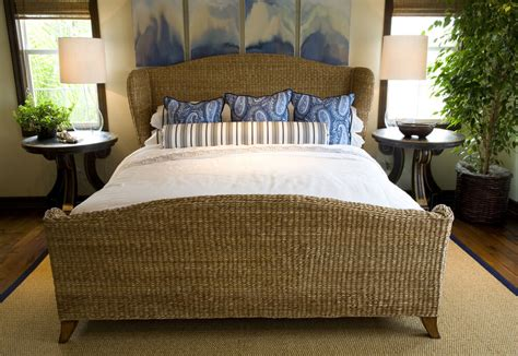 White Rattan Bed Frame 54 Richly Decorated Smaller Master Bedroom Designs