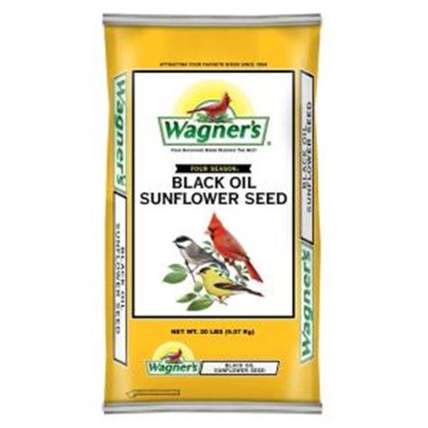 wagner s four season 20 lb black oil sunflower seed 76026