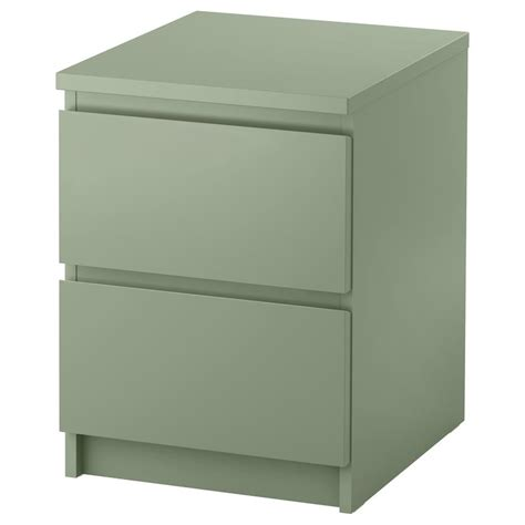 ikea dresser malm  drawers night table drop table  colours