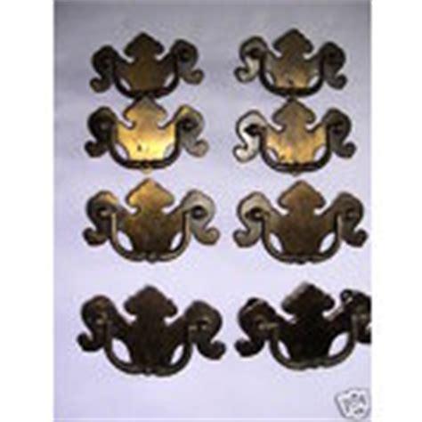 Ethan Allen Drawer Pulls 8 vintage ethan allen brass drawer handle pull hardware