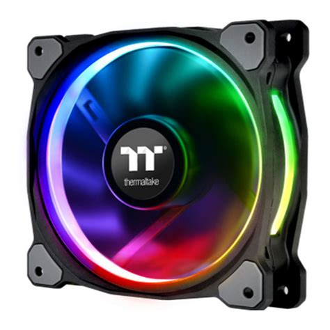Thermaltake Riing 12 Rgb Radiator Fan Tt Premium 3pack thermaltake 120mm thermaltake riing plus 12 rgb radiator