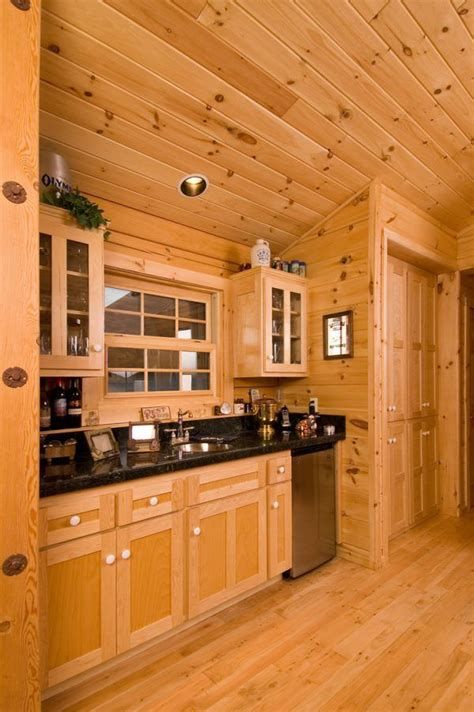 Knotty Pine Interior Doors Decoration Appealing Knotty Pine Log Cabin Interior
