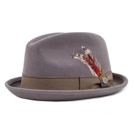 Felt Hats By Mademoiselle Ombrelle 2 by Brixton Hats Gain Wool Felt Fedora Hat Stingy Brim Trilby