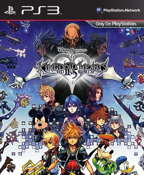 ps3 themes kingdom hearts 2 5 kingdom hearts hd 2 5 remix ps3 square enix store