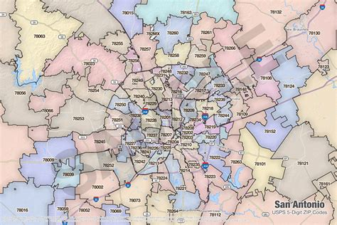 zip code map bexar county san antonio zip code map zip code map