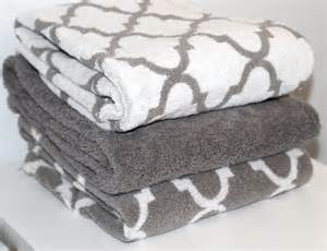 gray decorative bath towels pretty bath towels the trellis pattern bath towels