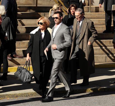 deborah furness photos photos funeral held for oscar de