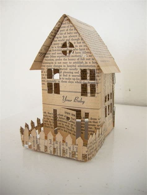 A Paper House - tiny house paper