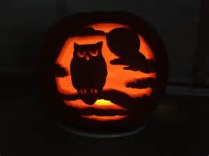 Owl Pumpkin Template by Ms Piggys Pumpkin Carving