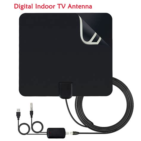shpping indoor tv antenna high gain amplifier hdtv