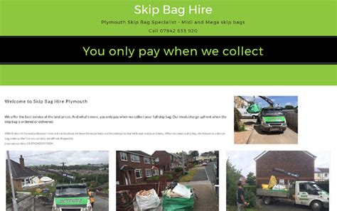 skip hire in plymouth skip dumpy bag hire plymouth