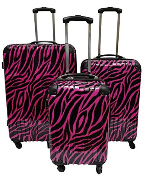 zebra pattern suitcase my top 10 cute zebra suitcases and luggage sets