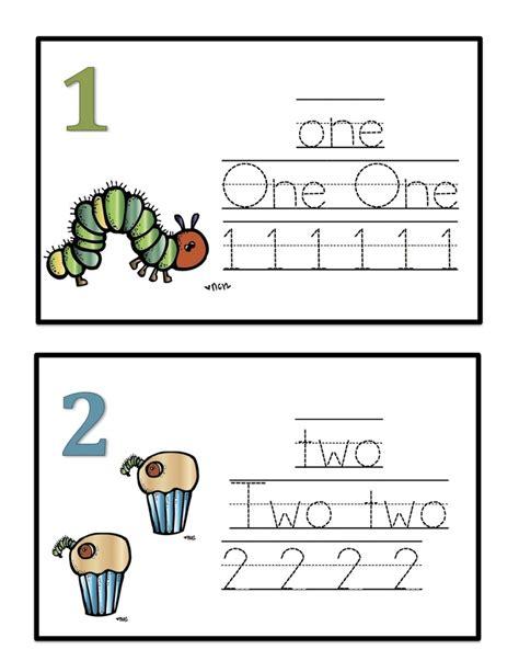 printable number cards preschool preschool printables hungry caterpillar number cards