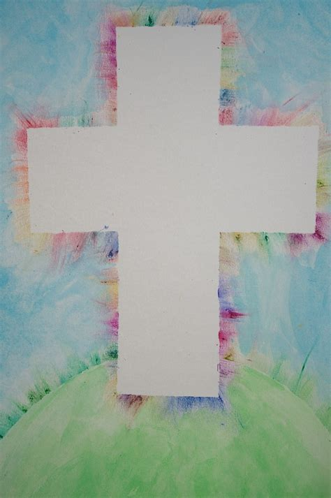 cross craft projects centered easter crafts activities