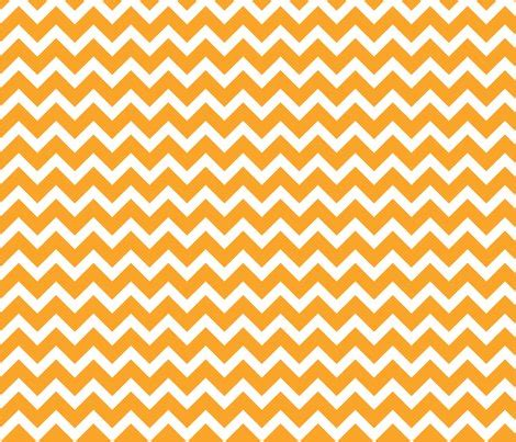 Orange Chevron orange chevron fabric sweetzoeshop spoonflower