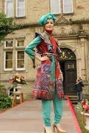 Setelan Busana Muslim Uis 1 4thun kumpulan model baju batik kerja muslim modern terbaru 2018 unik cantik