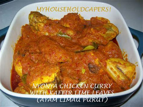 Asam Gelugur 0 5kg my household capers recipe nyonya chicken curry with