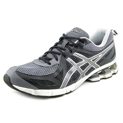 grey athletic shoes asics gel fierce gray running shoe athletic