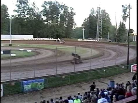 first nw extreme sprint car race cottage grove speedway