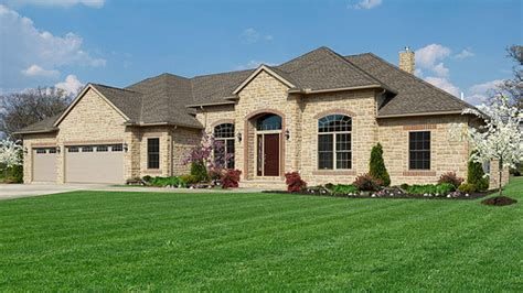 one story brick ranch house plans one story ranch style 1 story house plans with basement ranch and single story homes wayne homes