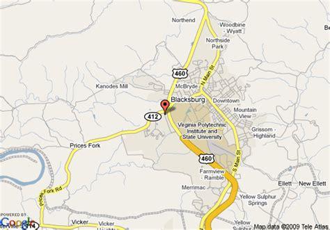blacksburg va map map of hawthorn blacksburg blacksburg