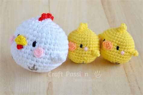 amigurumi pattern chicken hen chicks amigurumi free crochet pattern craft passion