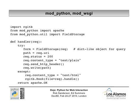 tutorial python web python web tutorial