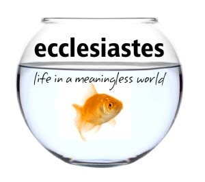 Ecclesiastes All Is Vanity by I Seen Everything The Sun All Is Vanity