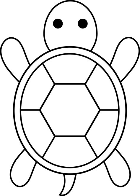 simple turtle coloring page turtle for applique applique pinterest turtle