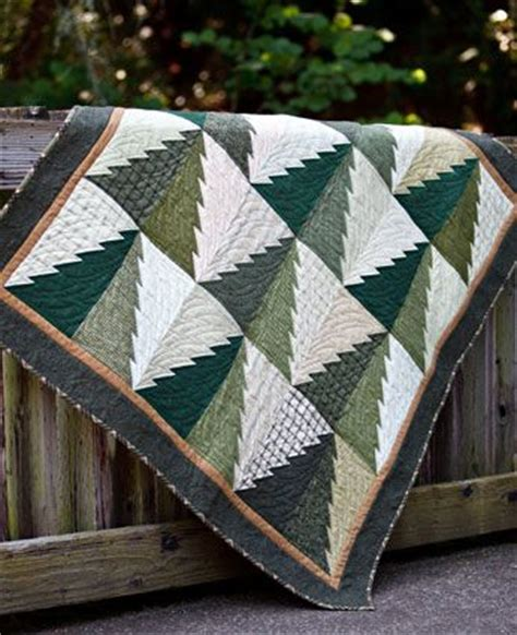 Into The Woods Quilt Pattern by Flannel Quilts Into The Woods And Tree Quilt On