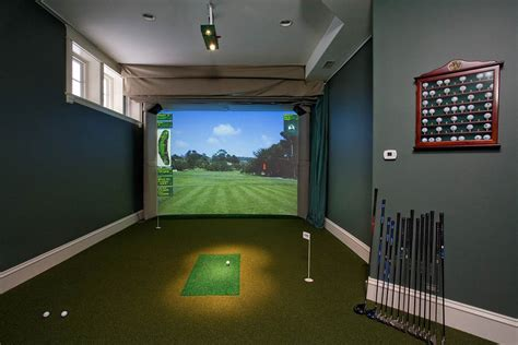used full swing golf simulator for sale residential amenity high definition golf simulators