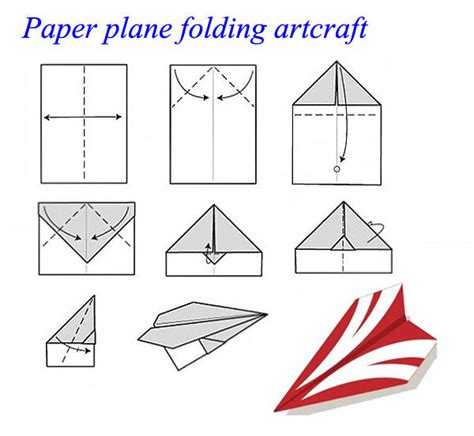 How To Fold Paper Plane - new hm830 easy rc plane folding a4 paper airplane wireless