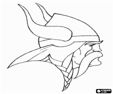 Vikings Coloring Pages Printable Games 2 Minnesota Vikings Coloring Pages