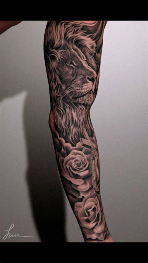 mens rose tattoo sleeves pin by dequan bfs on ideas sleeve tattoos