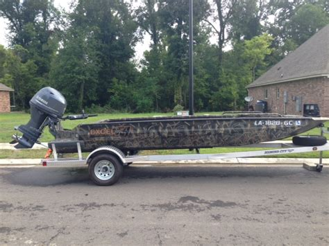 fishing boat for sale red deer 2014 excel f4 duck boat for sale in baton rouge carolina
